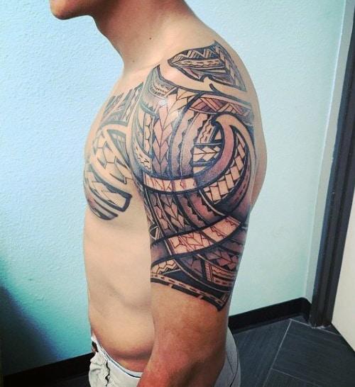 Tribal Tattoos Hawaiian Men