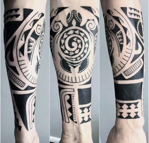 Tribal Tattoos On Forearm For Men