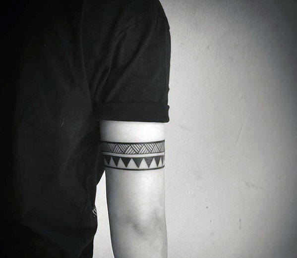 Tricep Armband Male Tribal Tattoos