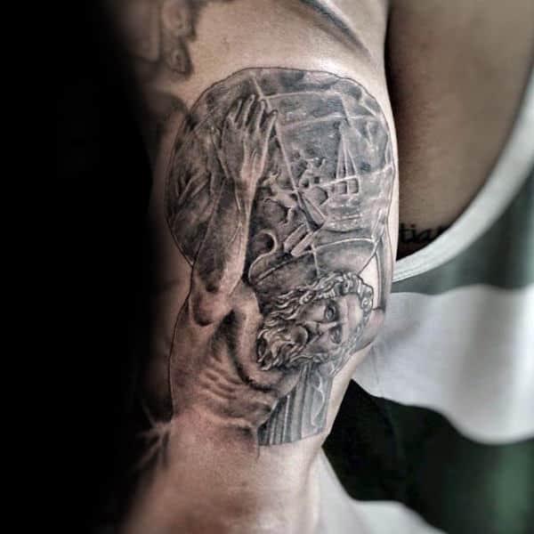 Tricep Guys Atlas Tattoos