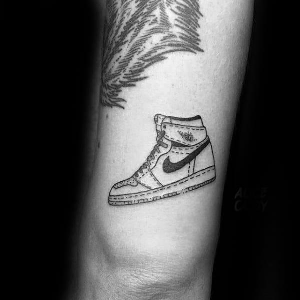 Tricep Guys Nike Sneaker Tattoo