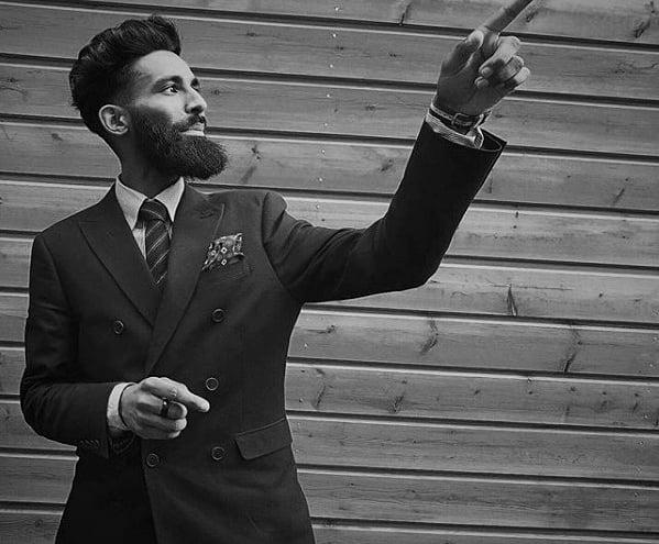 Trimmed Classy Beard Styles For Men