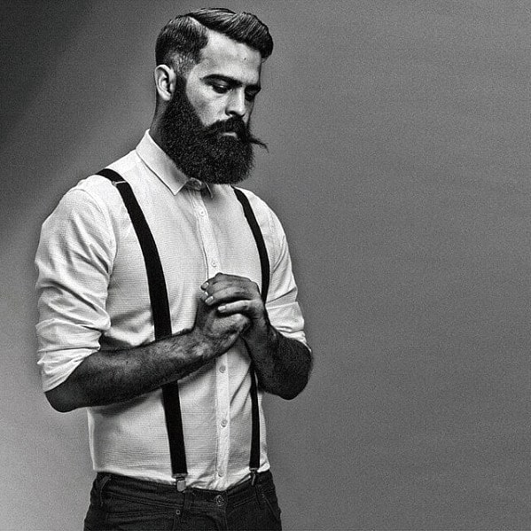 Trimmed Great Beard Styles For Men