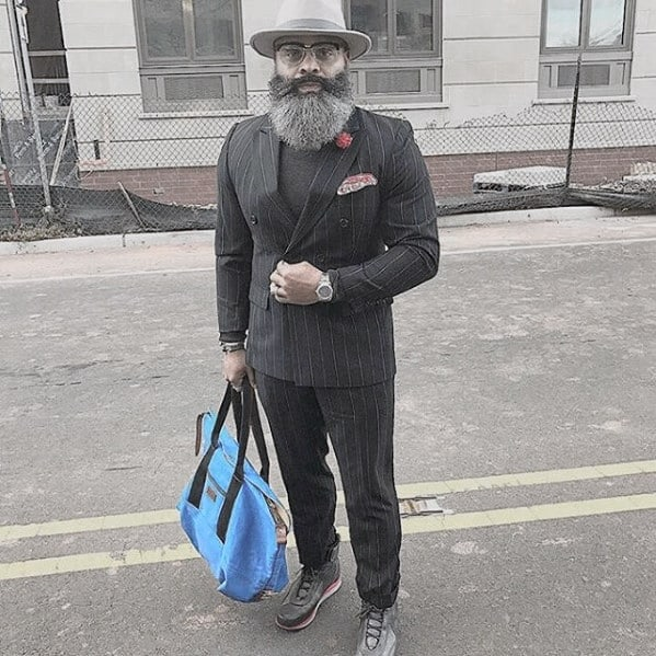 Trimmed Grey Beard Styles For Men