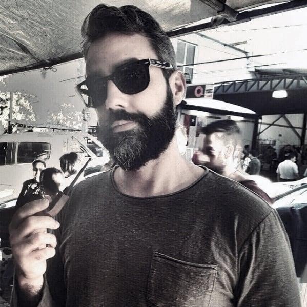 Trimmed Manly Beard Styles For Men