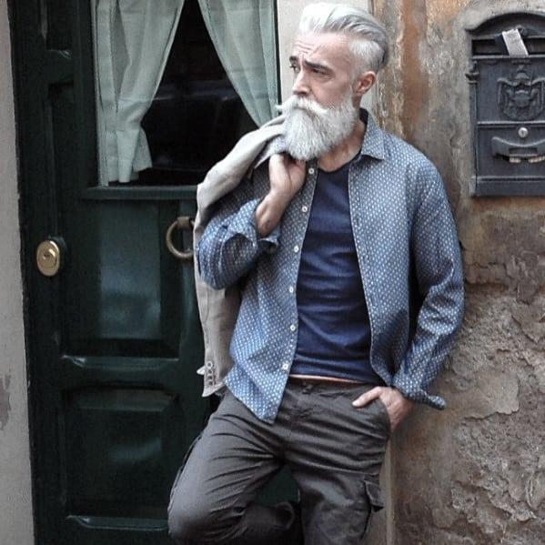 Trimmed Nice Beard Styles For Men