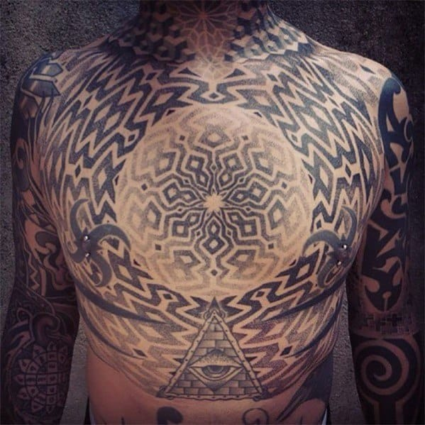 Trippy Guys Tattoo Designs
