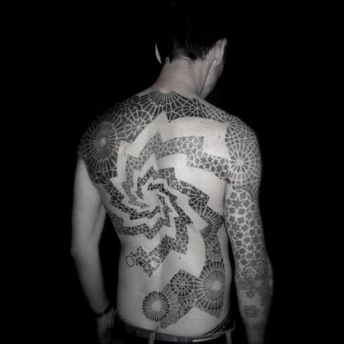 Trippy Male Tattoo Designs