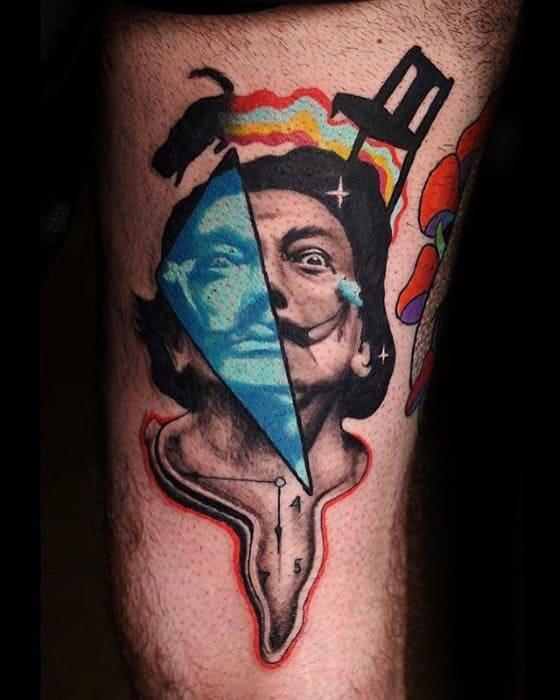 Trippy Mens Tattoo Ideas