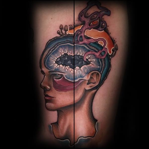 Trippy Tattoo Designs For Guys