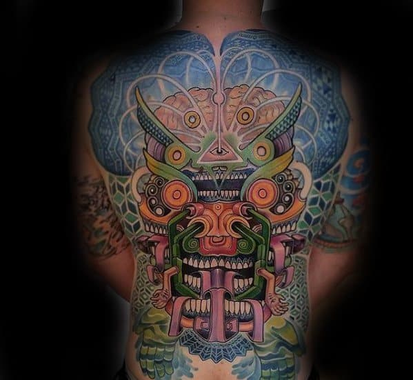 Trippy Tattoo Designs For Males