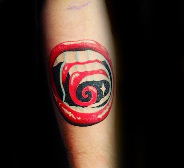Trippy Tattoo Psychedelic Ideas For Males