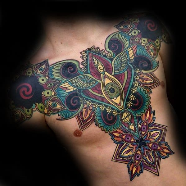 Trippy Tattoos Male