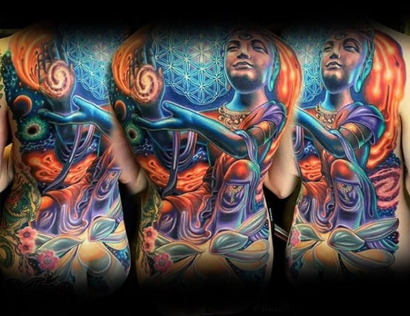 Trippy Tattoos Men