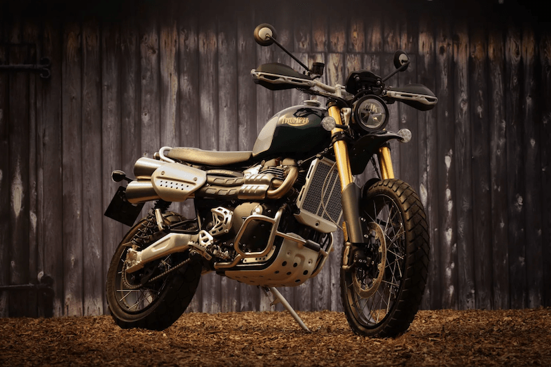 Triumph Pays Homage to Steve McQueen with the Scrambler 1200