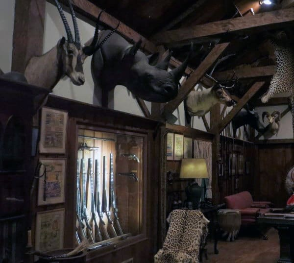 Trophy Room Man Cave For Guns
