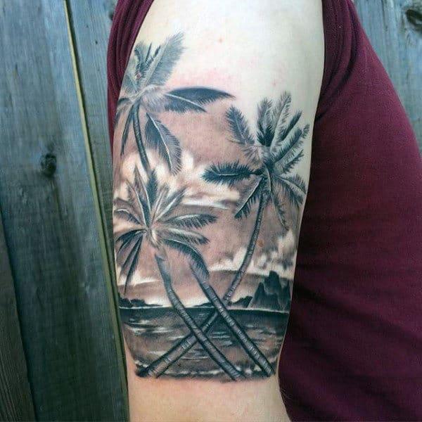 100 Palm Tree Tattoos ...