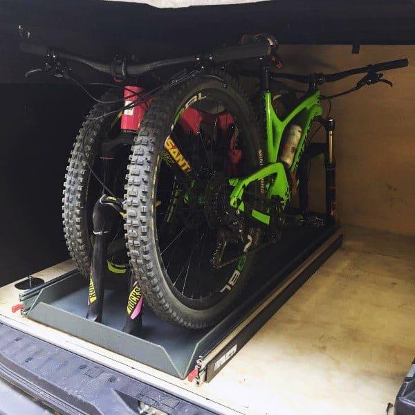 Truck Bicycle Storage Ideas
