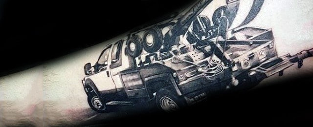 Truck Tattoos For Men