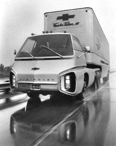 Truck With Strange Design