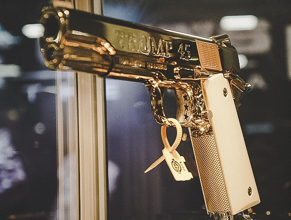 Trump 45 Gold Plated 1911