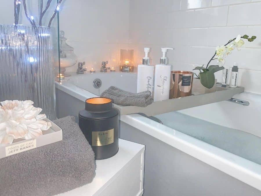 Tub Caddie Bathroom Organization Ideas Homewithfour