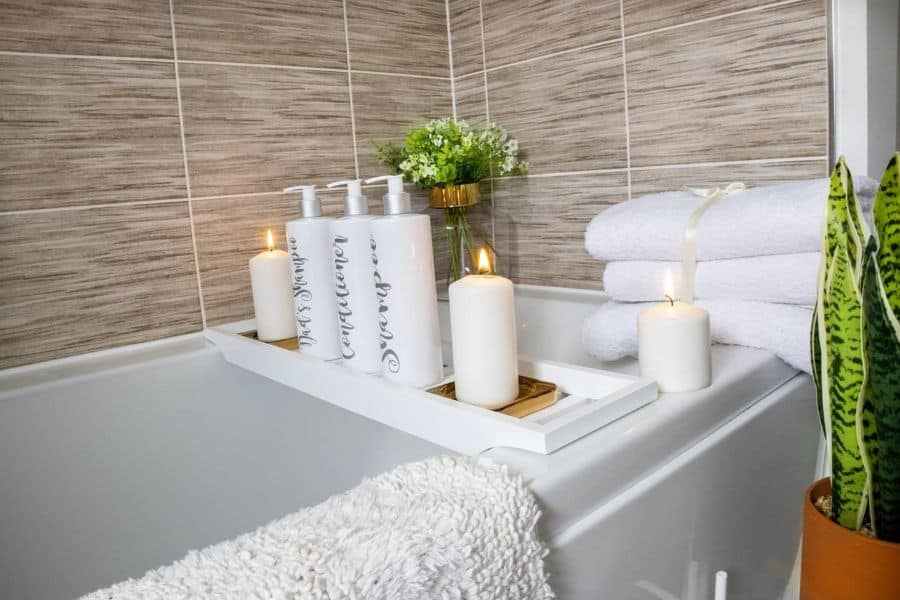 Tub Caddie Bathroom Organization Ideas Our Livingspace