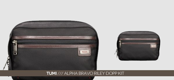 Tumi Alpha Bravo Riley Dopp Kit For Men