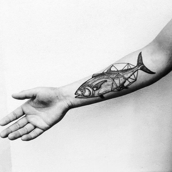 Tuna Tattoo Designs For Men