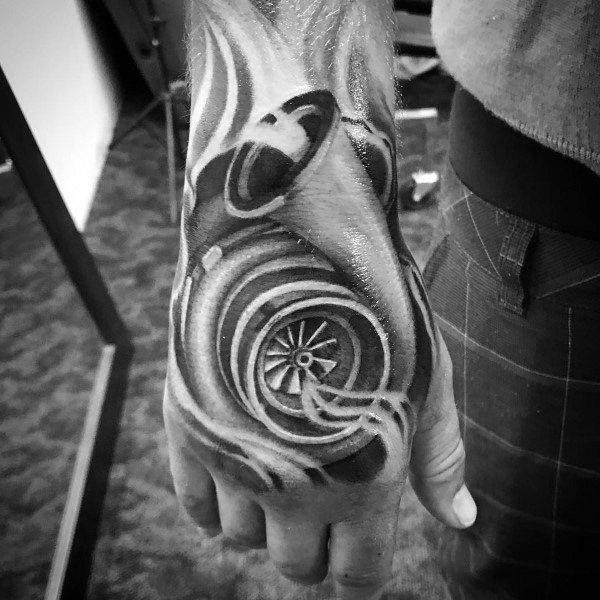 Turbo Tattoo Design Ideas For Men