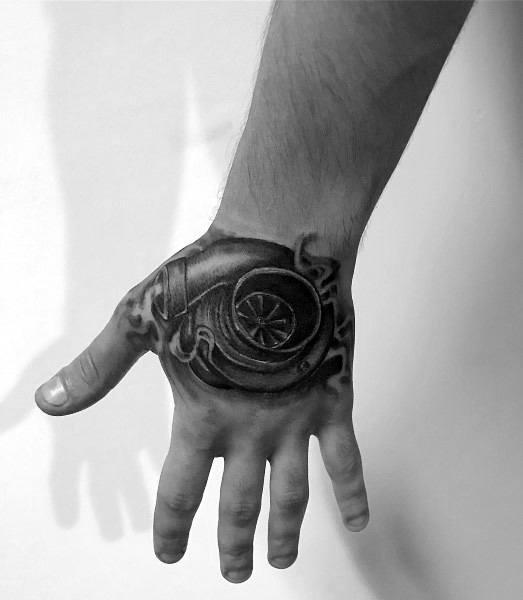 Turbo Tattoo Designs For Men