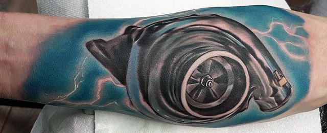 Turbo Tattoo Ideas For Men