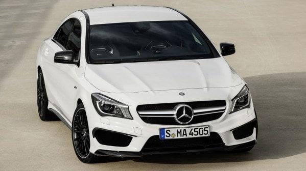 Turbocharged 2014 Mercedes-Benz CLA 45 AMG