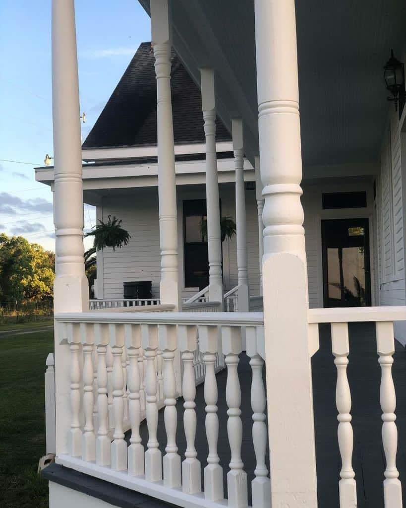 Turned Baluster Porch Railing Ideas Akemi Naturally