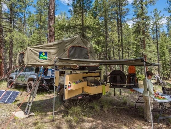 Turtleback Trailers Expedition Off Road Camper