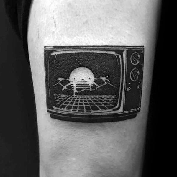 Tv Themed Tattoo Ideas For Men