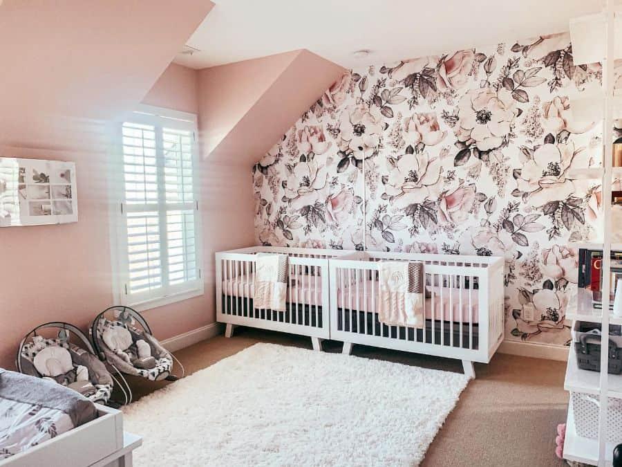 Twin Nursery Ideas Dncardin