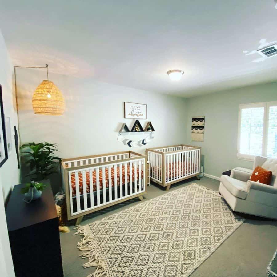 Twin Nursery Ideas Heather3loves