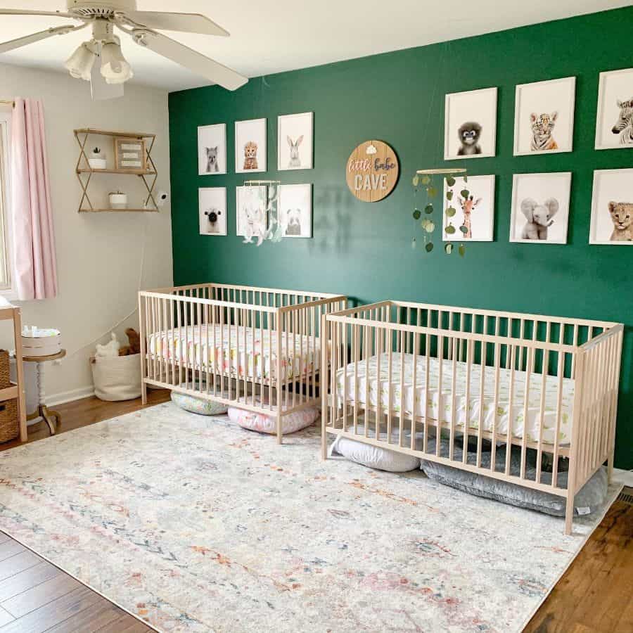 Twin Nursery Ideas Latkins904
