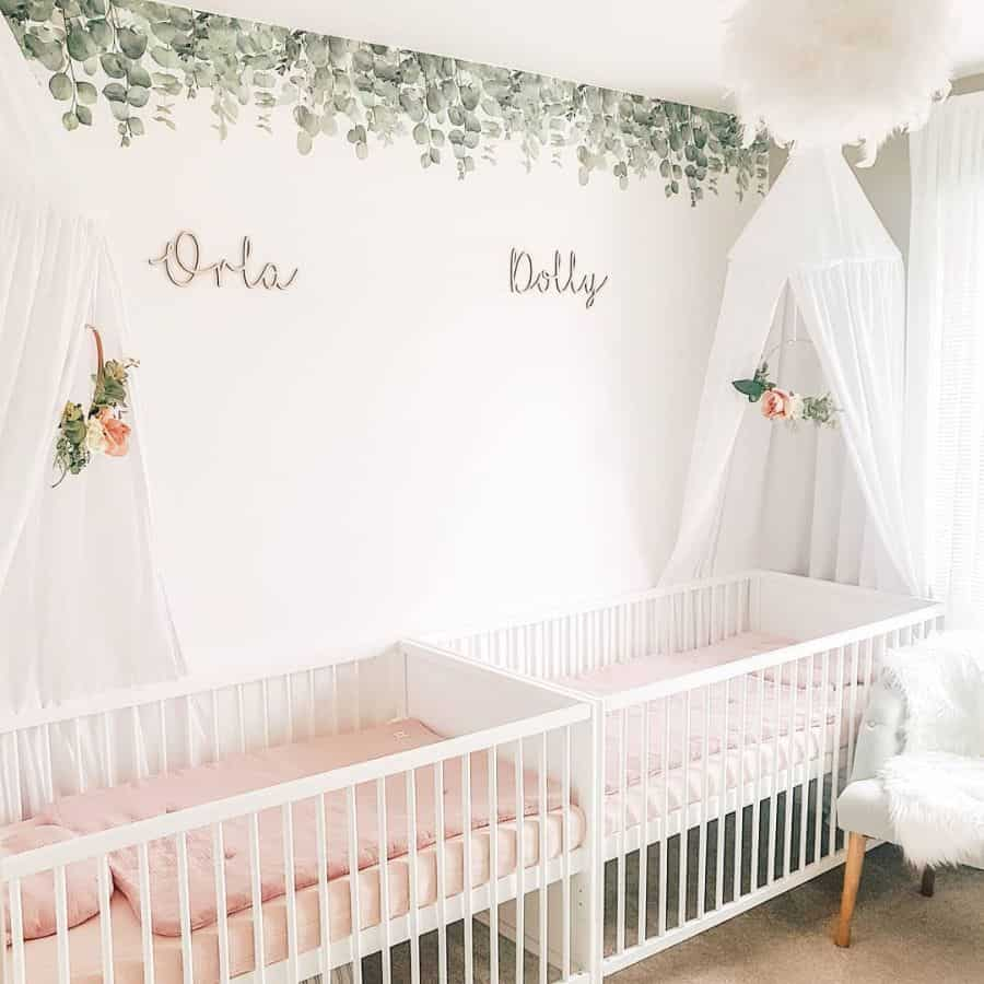 Twin Nursery Ideas Thebearandthetwins