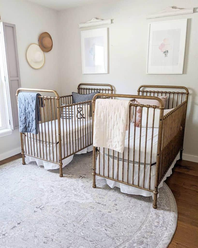 Twin Nursery Ideas Whiteblossomhome