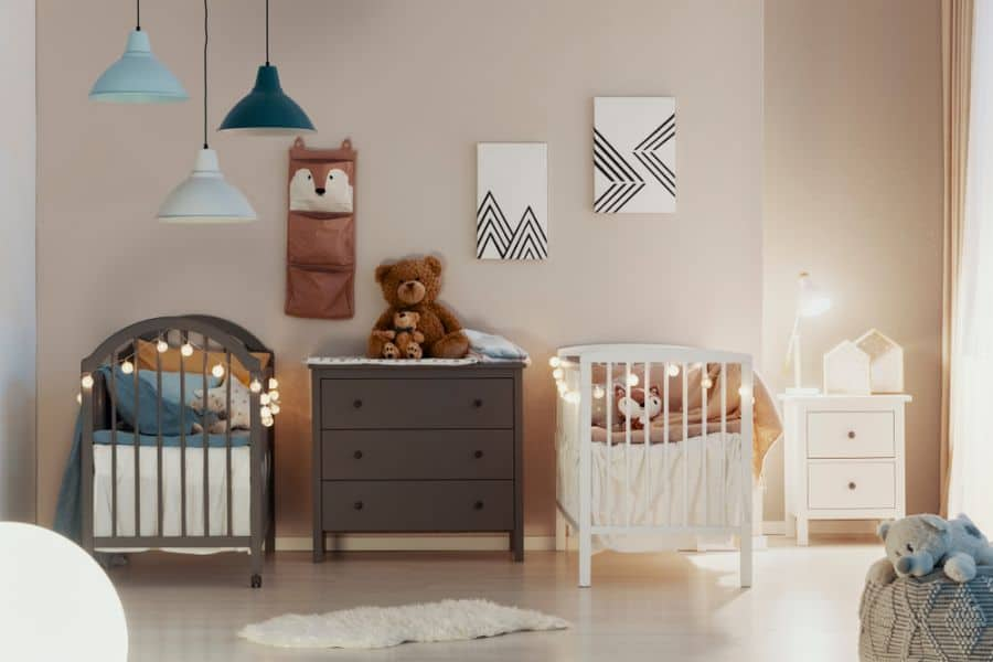 Twins Siblings Baby Room Ideas 1