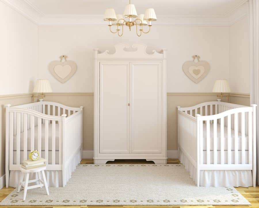 Twins Siblings Baby Room Ideas 2