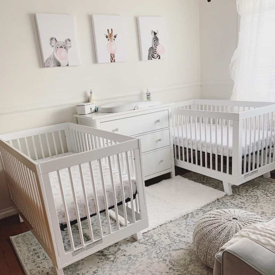Twins Siblings Baby Room Ideas Nursiebrit