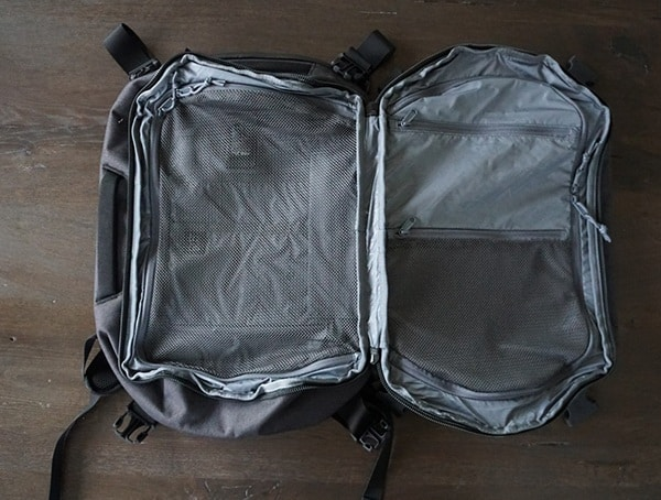 Two Compartment Split Open Chrome Industries Summoner Backpack