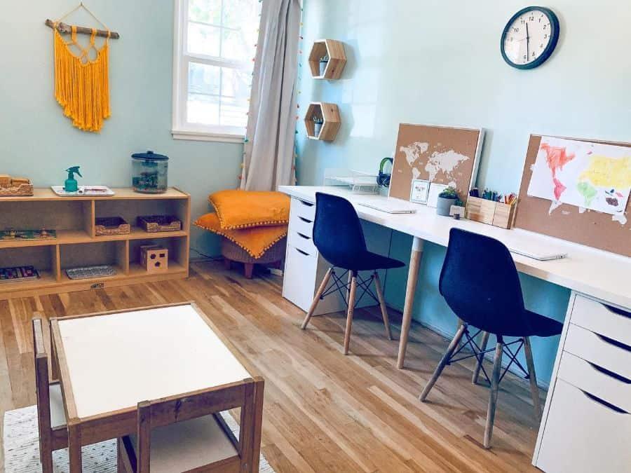 two desk setup ideas hungerfordconstructiondesign