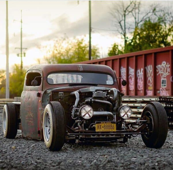 Two Door Masculine Badass Rat Rods