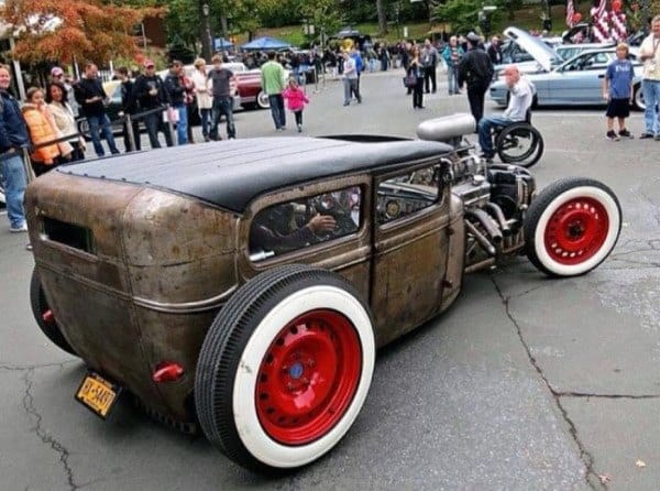 Two Door Retro Badass Rat Rods