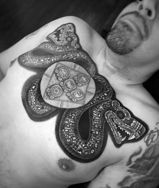Two Headed Snake Tattoo Designs For Men