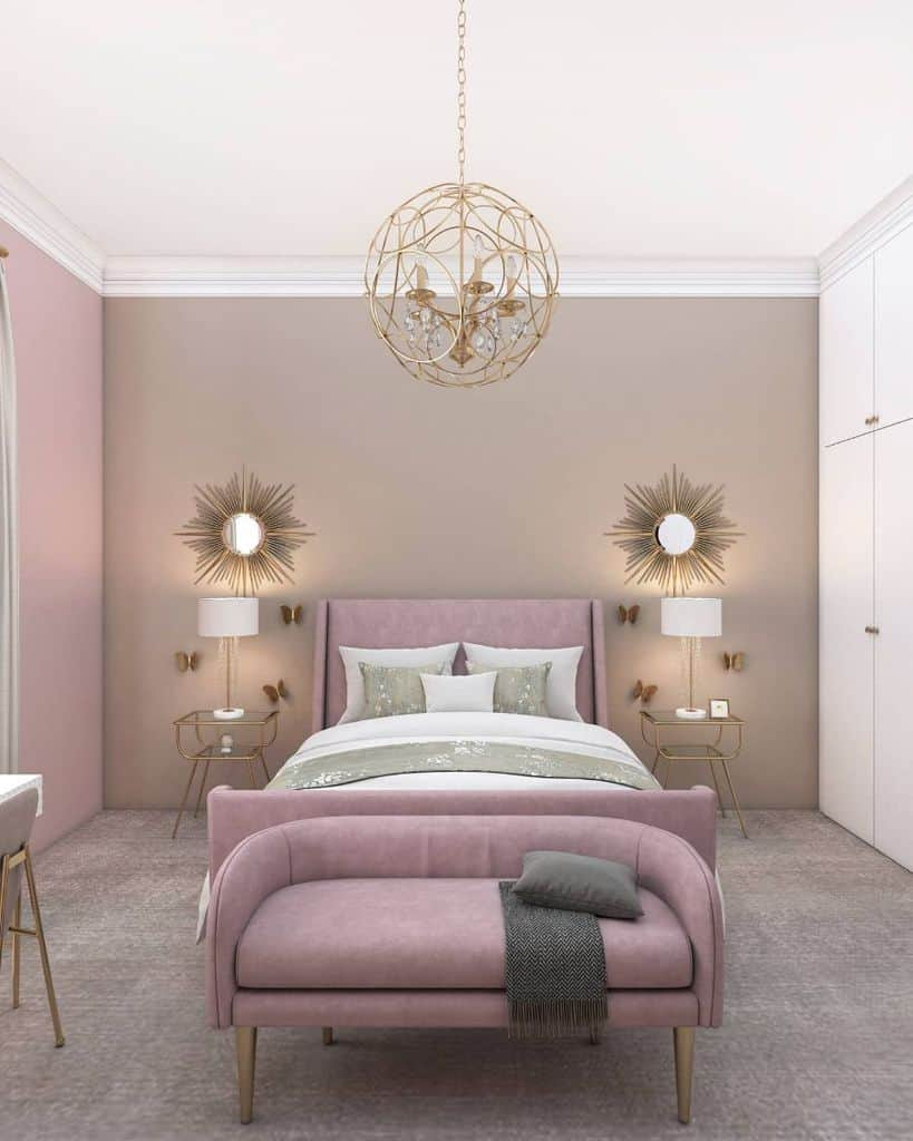 two or multitone bedroom paint ideas nadeensamara.interiordesign